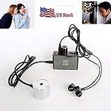 Enhanced Version Super Sensitive Listen Thru-Wall Contact/Probe Microphone Amplifier System