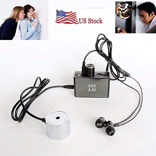 er Sensitive Listen Thru-Wall Contact/Probe Microphone Amplifier System (Electronic Listening Device)