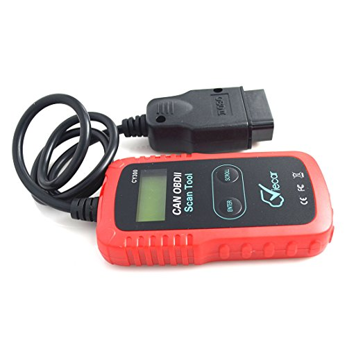 OBD2 Scanner Backlight LCD Viecar CAN Automotive Code Reader Check Engine Light Direct Scan and Read Out Clear Trouble Codes for All OBD II Compliant Vehicles