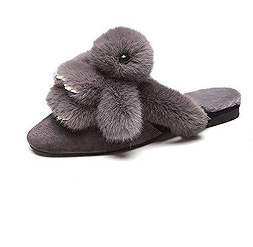 37 Bocca Lady Pantofole Slipper Basse Scarpe Con Deed Superficiale Eu Cartoon Casual Pigro PpxAtqSq