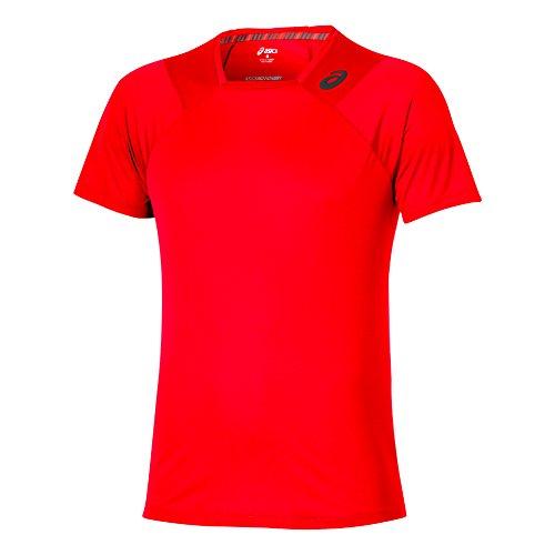 Femme Athlete Asics Manches Courtes Orange Pour Oberbekleidung qzwROw18
