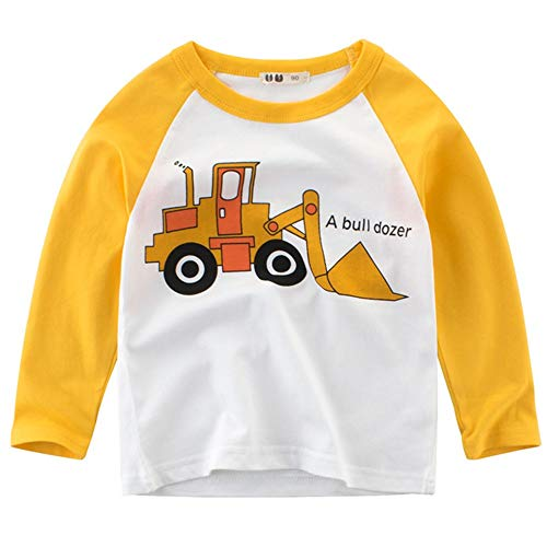 BesserBay Toddler Girls Raglan Tee 3/4 Sleeve Baseball Shirt Girls Raglan Tshirt Fine Tee XS
