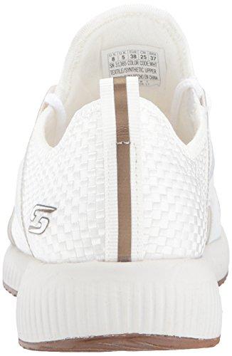 White Insta Bobs Sneaker Damen Sport Cool Skechers Weiß qwxfOW0twz