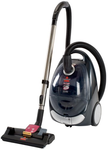 Bissell Pet Hair Eraser Cyclonic Canister Vacuum Bagless