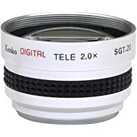 2x Telephoto Conversion Lens for Canon ZR400 ZR300 ZR200 ZR100