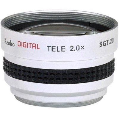 2x Telephoto Conversion Lens for Sony DCR-DVD301 DVD201 HC42 HC32 HC21 by Kenko