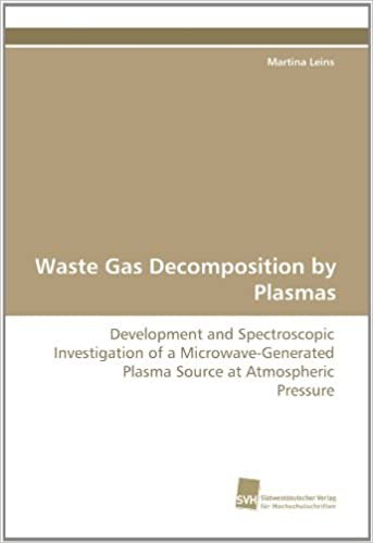 Waste Gas Decomposition by Plasmas: Development and Spectroscopic Investigation of a Microwave-Generated Plasma Source at Atmospheric Pressure