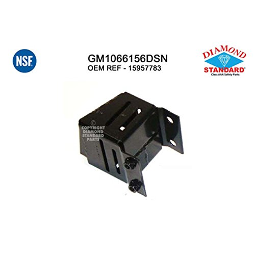 - OE Replacement 1995-2005 CHEVROLET ASTRO_VAN Bumper Mounting Bracket (Partslink Number GM1066156)
