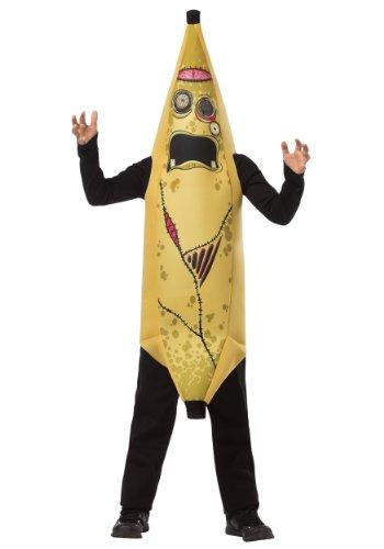 Rasta Imposta Childrens Costume, Zombie Banana, (Funny Costumes For Boys)