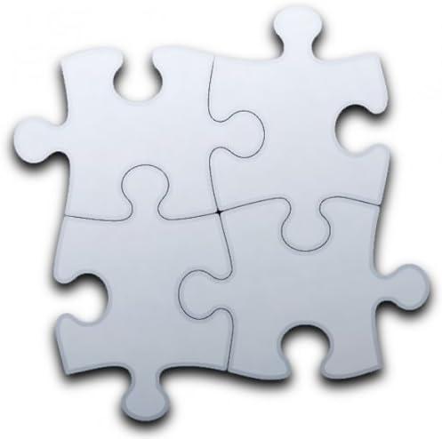 Jigsaw Mirrors (Four jigsaw pieces altogether) 35cm x 35cm: Amazon.co.uk:  Kitchen & Home