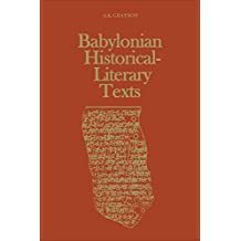 Babylonian Historical-Literary Texts (Heritage)