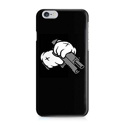 COVER Dope gun Waffe Handy Hülle Case 3D-Druck Top-Qualität kratzfest Apple iPhone 6 / 6S