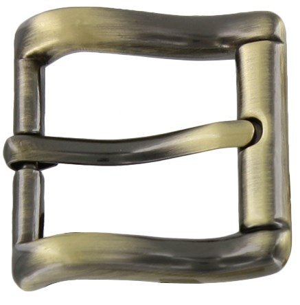 - 1in Buckle Brushed Antique Brass
