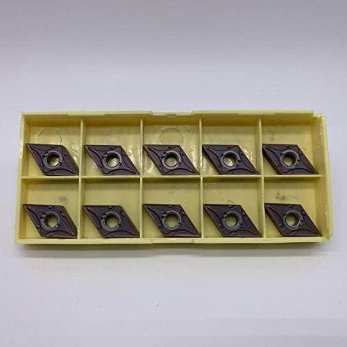10pcs DNMG150404 MA VP15TF / UE6020 Carbide Drehplatten CNC-Drehmaschine Metallschneidwerkzeug gute Qualität Messerklingen Stahl Arbeits (Farbe : DNMG150404 MA VP15TF)