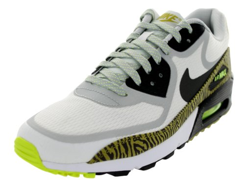 Nike Nike Air Max 90 Cmft Prm Tape Herren Low-top Smmt White / Nwsprnt / Dsty Grey / Black