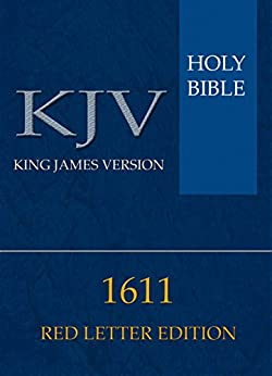 king james bible red letter edition pdf