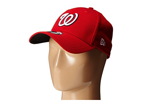 MLB Washington Nationals Team Classic Game 39Thirty Stretch Fit Cap, Red, Small/Medium