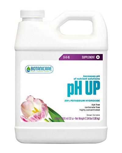 Botanicare pH UP Plant Supplement 0-0-16 Formula, 1-Quart (12-Pack) by Botanicare