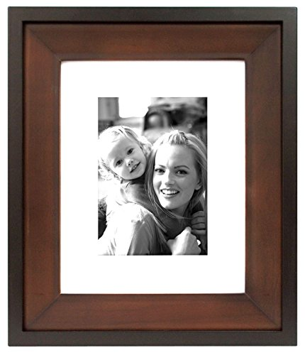 (MCS Two-Tone 8x10 Inch Wood Wall Frame with 5x7 Inch Mat Opening)