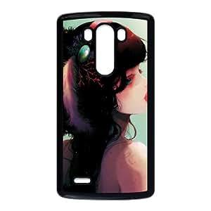 LG G3 Cell Phone Case Black girly 170 S8M4TS