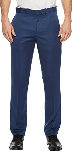 Tailored Straight Cut Pants - Perry Ellis Portfolio Mens Solid Performance Portfolio Pant Bright Sapphire 29 30