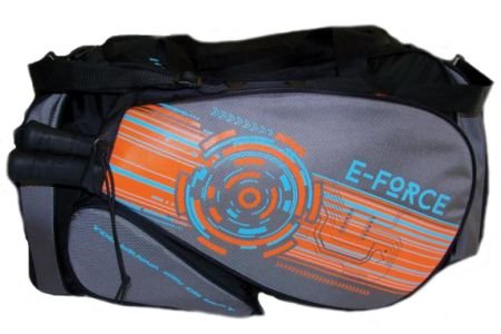 E-Force Racquetball Medium Bag-Black/Orange by E- force