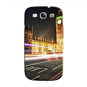 Cover It Up - Big Ben Time Lapsed Galaxy S3 Hard Case