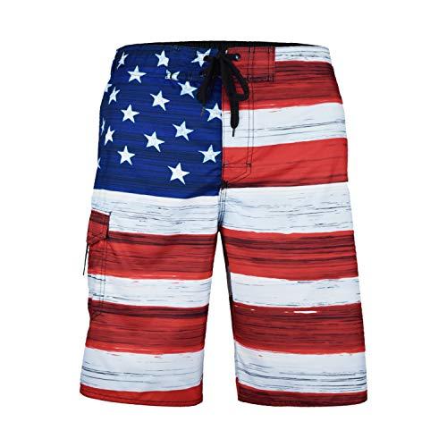 VBRANDED Men's American Flag 10.5