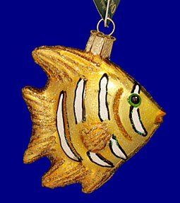 Fish Old World Christmas Ornament (Old World Christmas Regal Angel Fish Christmas Ornament)