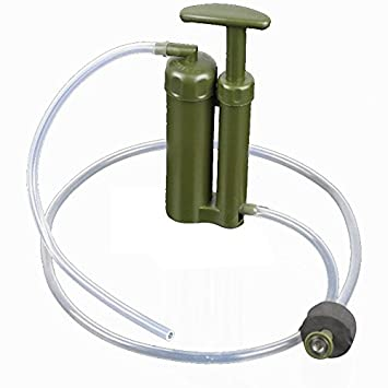 Amazoncom OKEBA Portable Soldier Water Filter Water Purifier for