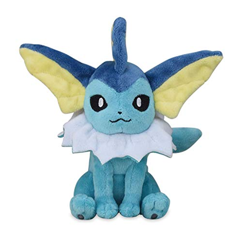 - Pokemon Plush Sitting Cuties Vaporeon