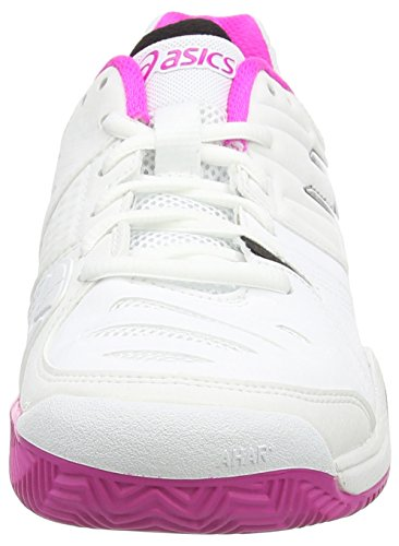 White White Clay Gel Glow Pink 10 Shoes Black 0135 Challenger Tennis Asics Women's tB8xw0