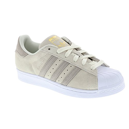 Off adidas W Gymnastique S18 Beige Superstar Femme res Chaussures Brown light de Green White hi ...