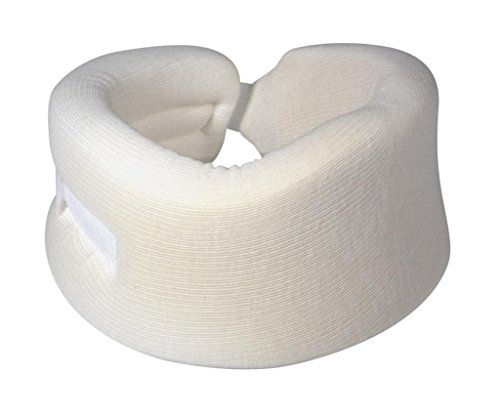 Universal-Cervical-Collar-White-3-Padded-Foam-Neck-Brace-for-Treating-Rehabilitating-Neck-Head-or-Spinal-Injuries-Properly-Aligns-Limits-Motion-Supports