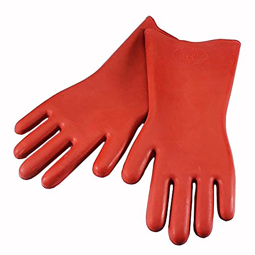 (Echodo 12KV Safety Electrical Protective Insulated Gloves Rubber Insulating Gloves 1 Pairs)