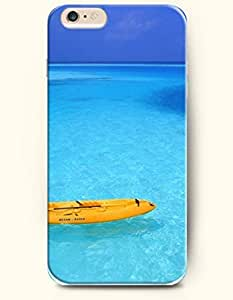 iPhone 6 Case 4.7 Inches Sea and Beach - Hard Back Plastic Phone Cover Shani Authentic
