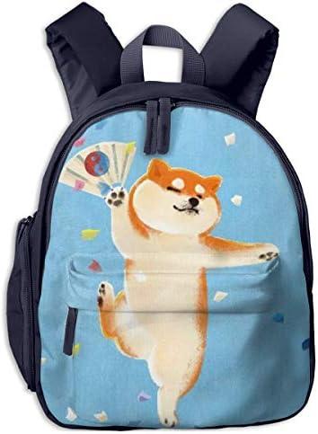 歌舞伎、柴犬 迷子防止リュック バックパック 子供用 子ども用バッグ ランドセル 高品質 レッスンバッグ 旅行 おでかけ 学用品 子供の贈り物
