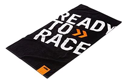 amazon com ktm ready to race beach towel home kitchen