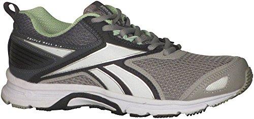 Womens White Alloy 0 Seafoam Triplehall 5 LD Coal Green Shoe Grey Reebok Running Tin qxCFwO