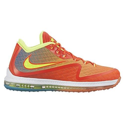 Nike Mens Field General 2 Basketball Shoes (9, Bright Crimson/Total Orange-BL LGN)