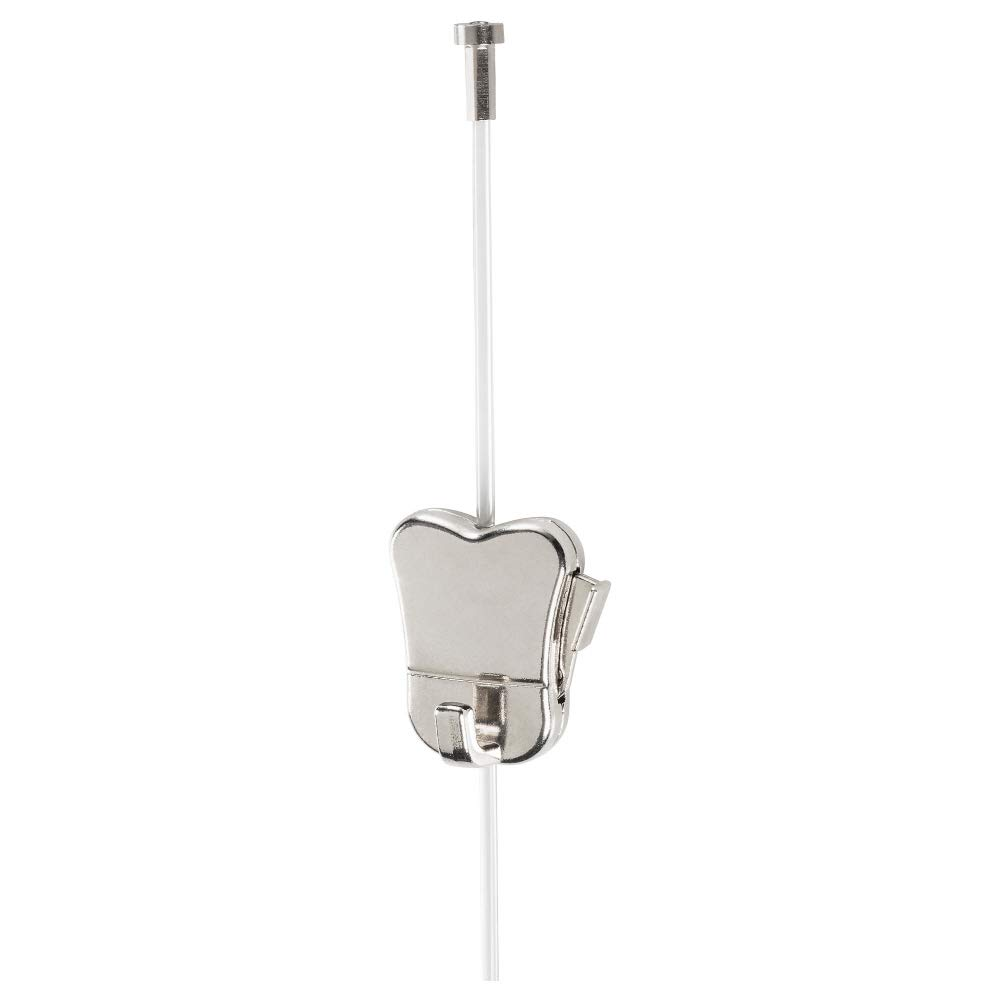 HAGHED Cord w Stopper and Adjustable Hook, Plastic, Metal