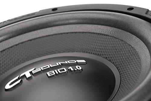 CT Sounds Bio 1.0 10 Inch Car Subwoofer 4 Ohm
