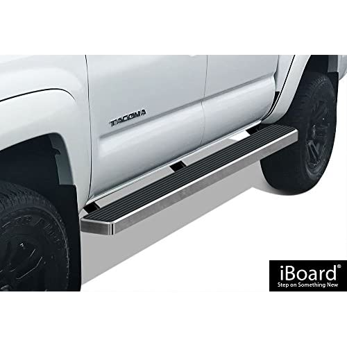 "New APS Premium 6"" iBoard Running Boards Fit 05-18 Toyota Tacoma Double Cab/Crew Cab supplier"