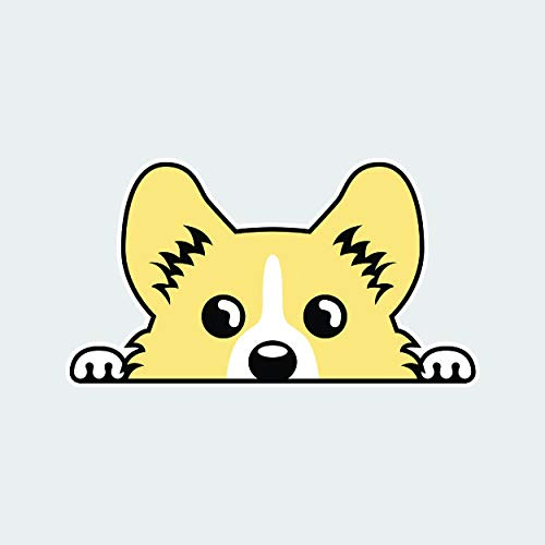 fagraphix Pembroke Welsh Corgi Sticker Self Adhesive Vinyl Decal Cardigan Dog Canine pet