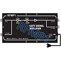 High-Power RG6 RG59 Coax CATV CCTV Signal Amplifier With 32dB Gain Boost