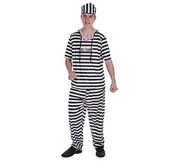 LLOPIS - Disfraz Adulto preso: Amazon.es: Juguetes y juegos