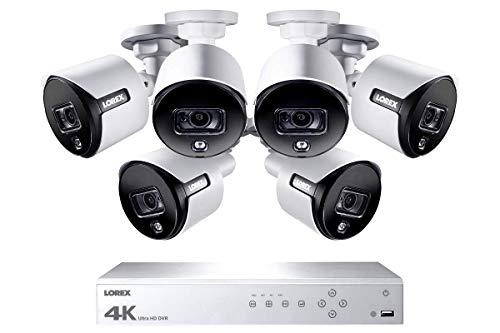 Lorex 4K Weatherproof Indoor/Outdoor Wired HD Security Cameras