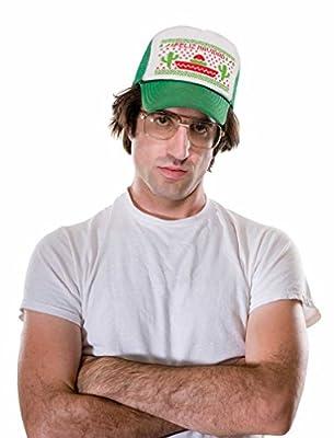 Tstars Feliz Navidad Mexican Ugly Christmas Cap Funny Xmas Party Trucker Hat Mesh Cap