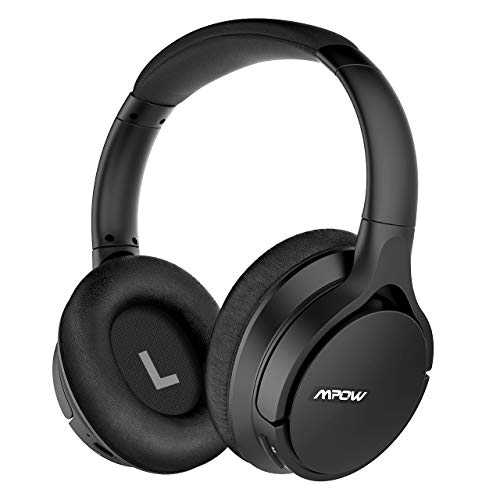 Mpow [Upgraded] H4 APTX-HD Bluetooth Headphones Over Ear, 30hrs Comfortable Wireless Headphones with Equalizer APP, Low Latency V4.2 Bluetooth Headset with w/Mic for Cellphone Tablet (Headphones With Equalizer)