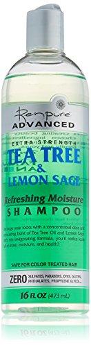Cleansing Shampoo Tree Tea (Renpure Tea Tree Lemon Sage Shampoo, 16 Ounce (Pack of 4))